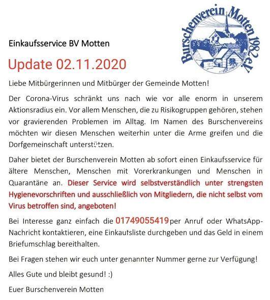 Burschenverein 02.11.2020